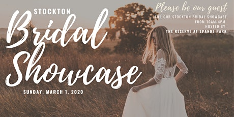 The Stockton Bridal Showcase tickets