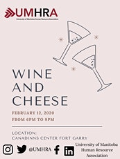 UMHRA 15th Annual Wine and Cheese tickets