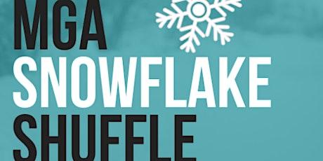 3rd Annual MGA Snowflake Shuffle 0.1K tickets
