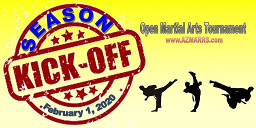 2020 Season Kick-Off Karate Tournament