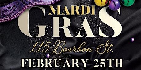 Mardi Gras 2020 tickets