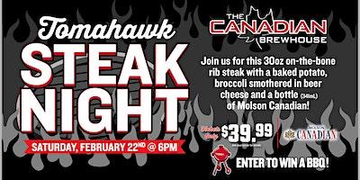 Tomahawk Steak Night (Cochrane)