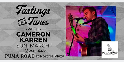 Live Music - Tastings & Tunes w/ Cameron Karren