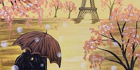 Paint Night in Croydon Park: Paris in the Rain tickets