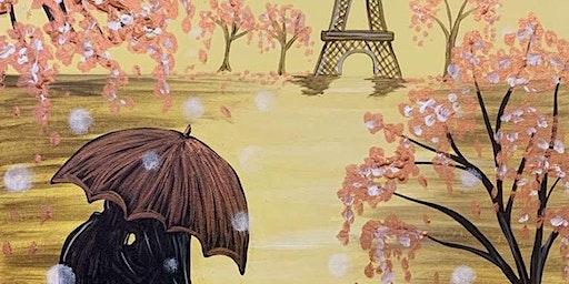 Paint Night in Croydon Park: Paris in the Rain