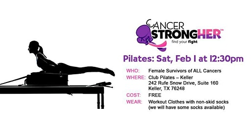 Cancer StrongHER Pilates — Free February 2020 Class