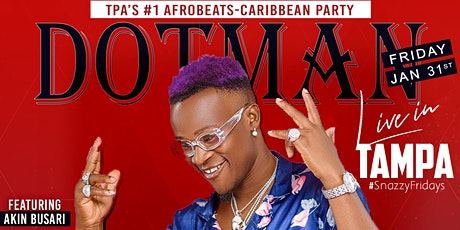 DOTMAN LIVE IN TAMPA | Powered by 234Vybz + Blue Whale Ent. tickets