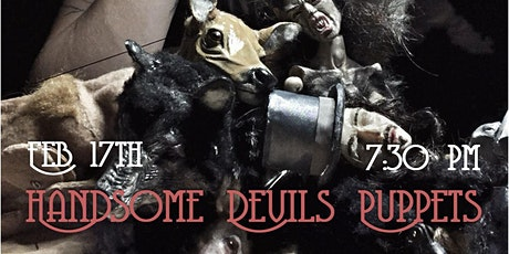 Handsome Devil Puppets One Night Only Performance tickets