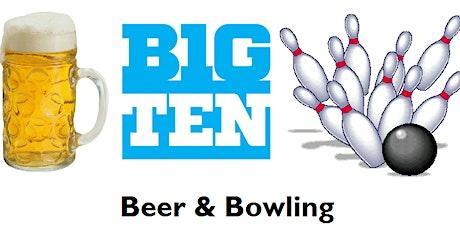 Big Ten Beer & Bowling 2020 tickets