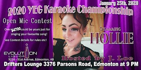 YEG Karaoke Night Hosted By J. Loe, Starring Hollie tickets