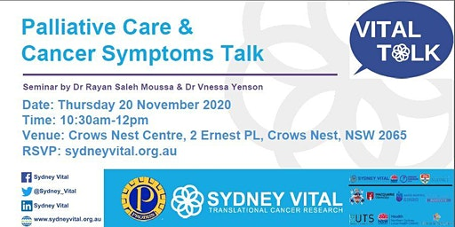 Palliative Care & Cancer Symptom Talk @ Probus Club Crows Nest