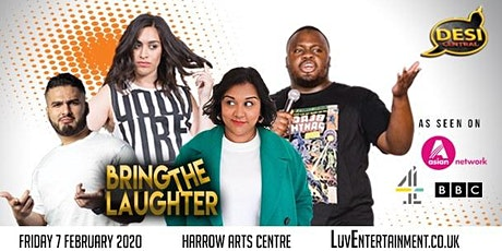 Desi Central : Bring The Laughter tickets