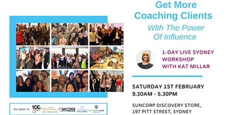 Get More Coaching Clients - 1-Day Workshop tickets