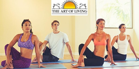 Rejuvenate and Relax with Sri Sri Yoga tickets