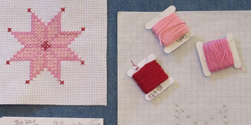 Marie Sternberg - Intro to Cross Stitch