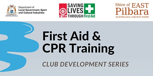 Club Development Series - First Aid &  CPR Training