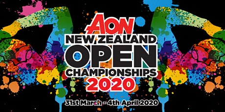 2020 AON New Zealand Open Championships tickets