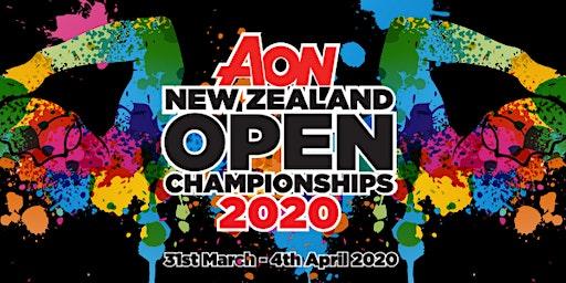 2020 AON New Zealand Open Championships