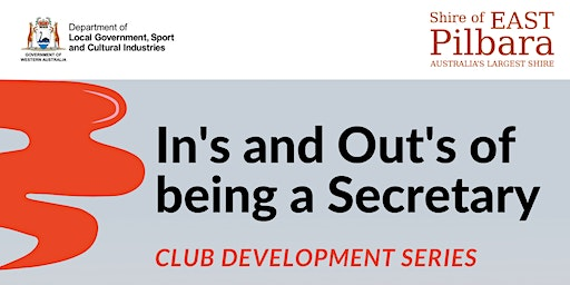Club Development Series - In's & Out's of being a Secretary