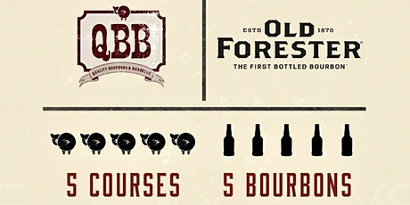 BBQ Dinner with Old Forester Bourbon @ QBB tickets