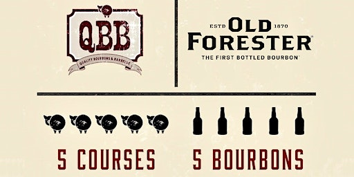 BBQ Dinner with Old Forester Bourbon @ QBB