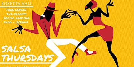 Salsa Thursdays at Rosetta Hall tickets