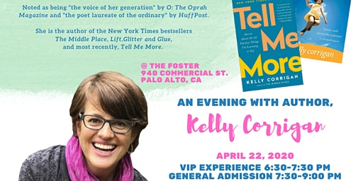 VIP Experience with Author Kelly Corrigan
