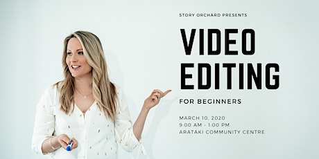 Video Editing for Beginners tickets