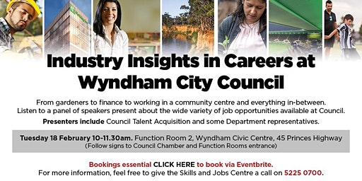 Industry Insights in Careers at Wyndham City Council