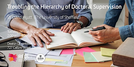Troubling the Hierarchy of Doctoral Supervision tickets
