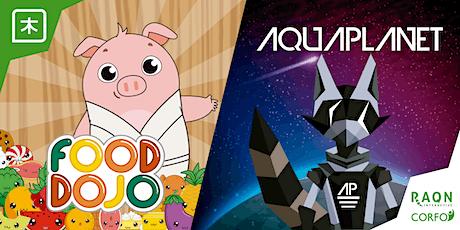 Lanzamiento Videojuegos Food Dojo y Aquaplanet tickets
