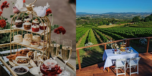 Valentine's day High Tea with panoramic views of Upper Yarra