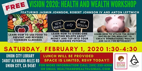 Vision 2020: Health and Wealth Workshop tickets