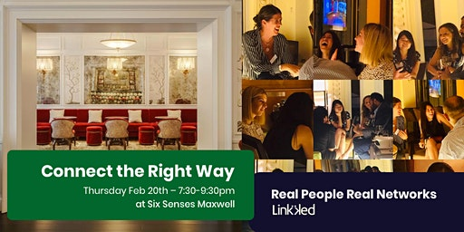 Professionally Guided Networking-Real People Real Networks