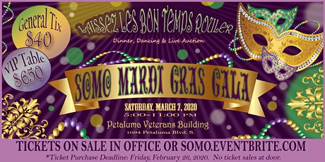 Laissez Les Bon Temps Rouler at the Mardi Gras Gala!  tickets
