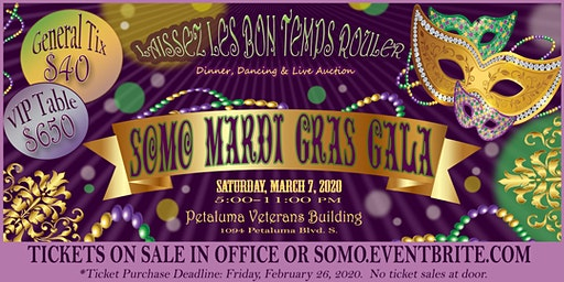 Laissez Les Bon Temps Rouler at the Mardi Gras Gala!