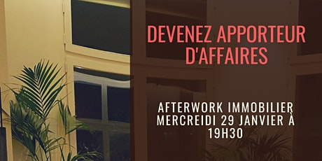 AFTERWORK : DEVENEZ APPORTEUR D'AFFAIRES billets