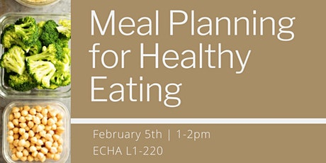 Meal Planning tickets