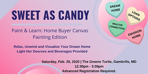 February 2020 Paint & Learn: Home Buyer Canvas Painting Edition