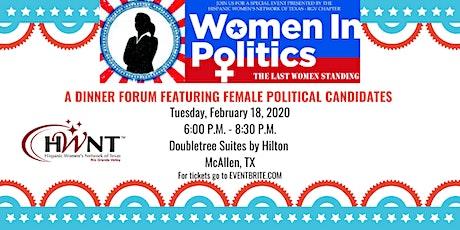 Women in Politics 2020 by HWNT-RGV tickets