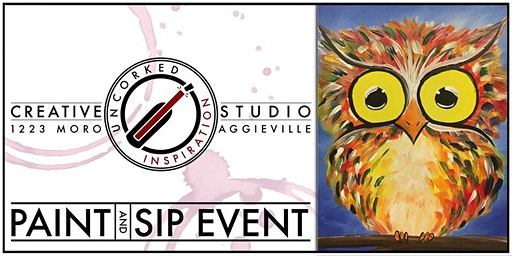 Paint & Sip | Baby Owl