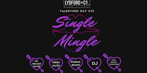 V DAY EVE SINGLE MINGLE