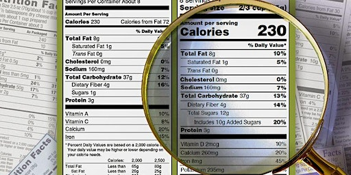 ZOEMAS FITNESS PRESENTS: DECODING FOOD LABELS