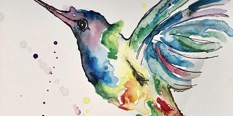 Watercolour Humming Bird (Dine in) tickets