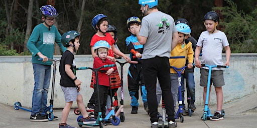 Scooter Coaching @ the Gumeracha Skate Park