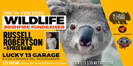 Wildlife Bushfire Fundraiser tickets