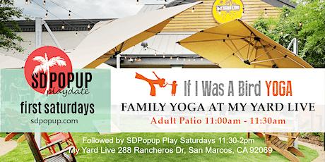 First Saturdays Family Yoga tickets