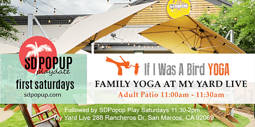 First Saturdays Family Yoga