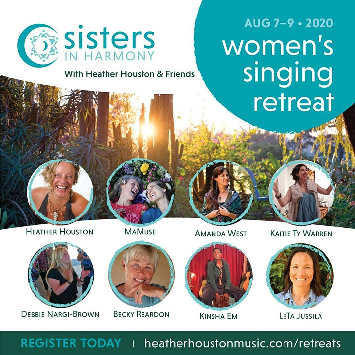 Women's Summer Singing Retreat With Sisters in Harmony image