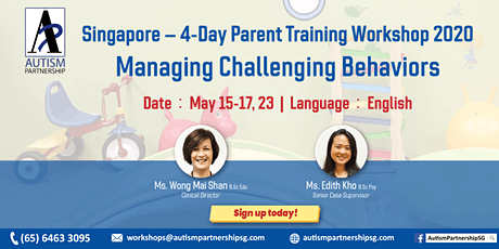 Parent Training Workshop – Managing Challenging Behaviors tickets
